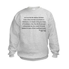 Bertrand Russell 14 Sweatshirt
