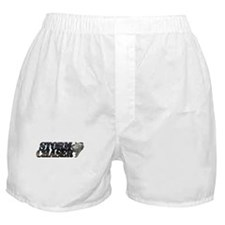 Storm Chaser Text Boxer Shorts