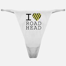 I Love Road Head Classic Thong