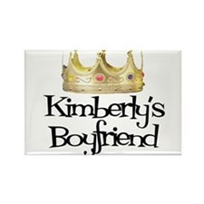 Kimberly's Boyfriend Rectangle Magnet