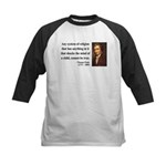 Thomas Paine 19 Kids Baseball Jersey