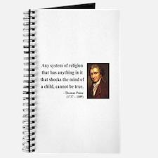 Thomas Paine 19 Journal