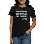 Thomas Paine 19 Women's Dark T-Shirt