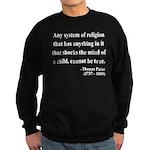 Thomas Paine 19 Sweatshirt (dark)