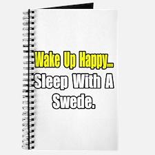"""...Sleep With a Swede"" Journal"