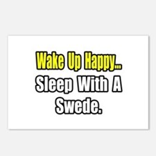 """""""...Sleep With a Swede"""" Postcards (Package of 8)"""