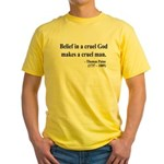 Thomas Paine 20 Yellow T-Shirt