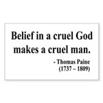Thomas Paine 20 Rectangle Sticker