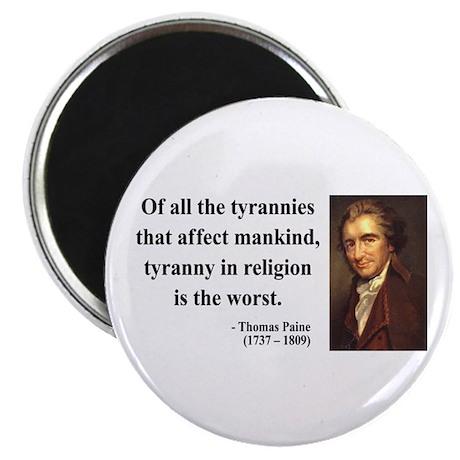 Thomas Paine 21 Magnet