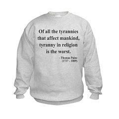 Thomas Paine 21 Sweatshirt