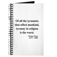 Thomas Paine 21 Journal