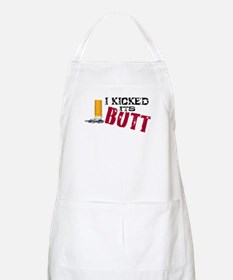 I Kicked Its Butt! Apron
