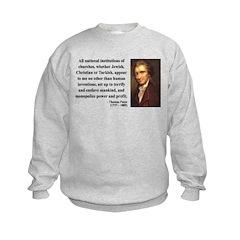 Thomas Paine 22 Sweatshirt