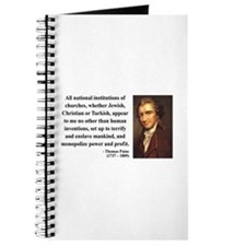 Thomas Paine 22 Journal