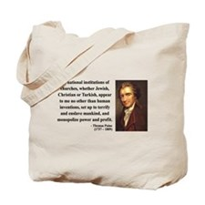 Thomas Paine 22 Tote Bag