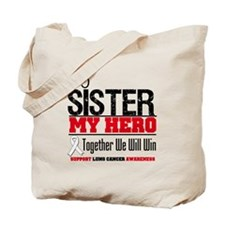 Lung Cancer Hero Tote Bag