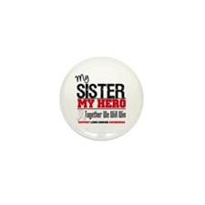 Lung Cancer Hero Mini Button (10 pack)