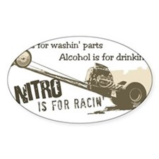 NITRO Oval Decal