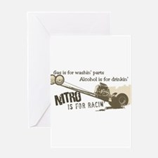 NITRO Greeting Card