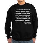 Thomas Paine 22 Sweatshirt (dark)