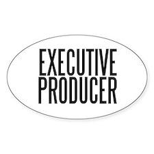 Executive Producer Oval Decal