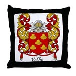 Velho Family Crest Throw Pillow