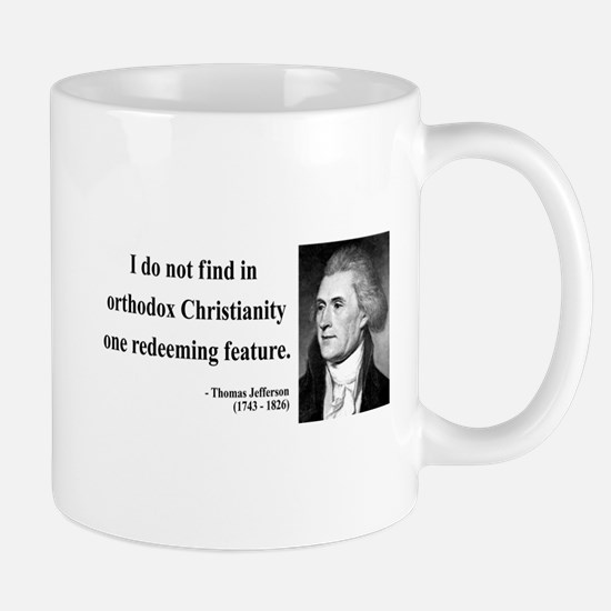 Thomas Jefferson 12 Mug