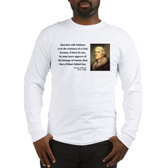 Thomas Jefferson 13 Long Sleeve T-Shirt