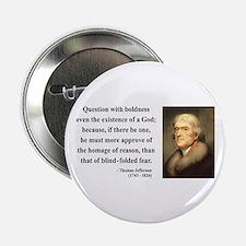 """Thomas Jefferson 13 2.25"""" Button"""
