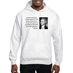 Thomas Jefferson 13 Hoodie