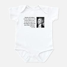 Thomas Jefferson 13 Infant Bodysuit