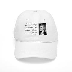 Thomas Jefferson 13 Baseball Cap