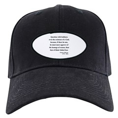 Thomas Jefferson 13 Black Cap