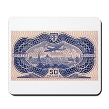France 50F airmail Mousepad