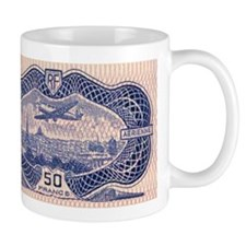 France 50F airmail Mug