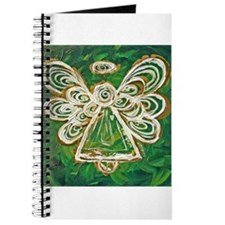 Green Angel Painting Journal