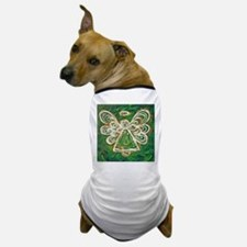 Green Angel Painting Dog T-Shirt