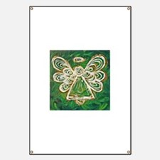 Green Angel Painting Banner