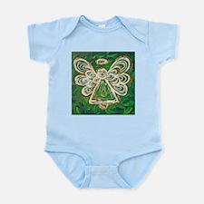 Green Angel Painting Infant Bodysuit