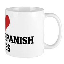 I Love Colonial Spanish Horse Coffee Mug
