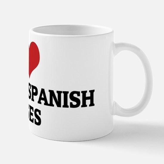 I Love Colonial Spanish Horse Mug