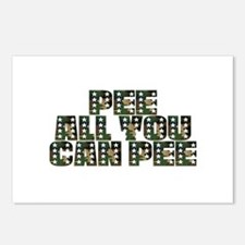 PEE All You Can PEE! Postcards (Package of 8)