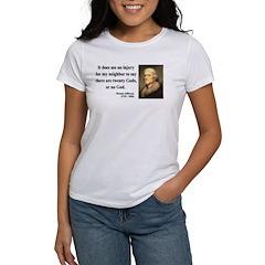 Thomas Jefferson 9 Tee