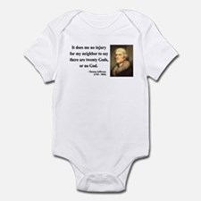 Thomas Jefferson 9 Infant Bodysuit
