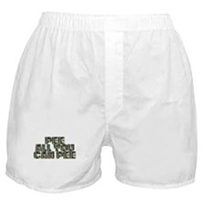 PEE All You Can PEE! Boxer Shorts