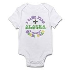 Came From Alaska to Mardi Gras Infant Bodysuit