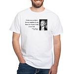 Thomas Jefferson 9 White T-Shirt