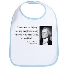 Thomas Jefferson 9 Bib