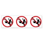 No Bad Sports Bumper Sticker (10 pk)