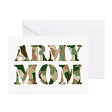 Army Mom Greeting Cards (Pk of 20)